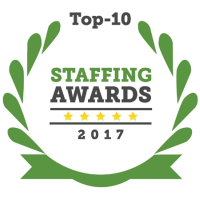 Staffing Award 2017 top 10